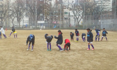 1月3日~初蹴り~ぼっち大会