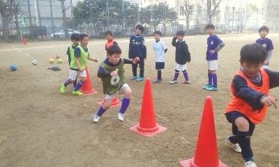 1月18日(土) キッズ ~紅白戦~