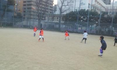 【3月江戸堀(土)~サッカー~】堀江キッズ(土)