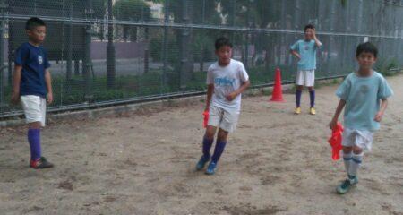 #3 夏休み平日トレーニング 選手:シャーク大阪